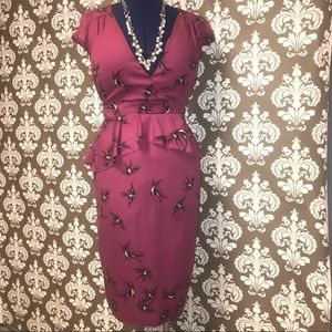 🐦 Dorothy Perkins Peplum Dress 🐦